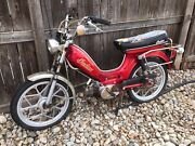 1981 Indian Motorcycle Moped Not Running Classic Scooter