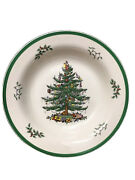 Spode Christmas Tree S3324 Pasta Serving Bowl 11 3/4andrdquo Inches Euc