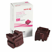 Xerox 108r00927 Solid Ink Stick 4400 Page-yield Magenta 2/box