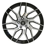 4 Gwg Hp2 20 Inch Black Rims Fits Nissan Rogue Select S 2014 - 2015
