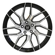 4 Hp2 20 Inch Staggered Black Rims Fits Mercury Grand Marquis