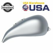 Baracuda Silver Extended Stretched Tank Cover For Harley Street Road Glide 08-20