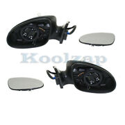 06-08 Cls-class Rear View Mirror Power W/memory Signal And Puddle Lamp Set Pair