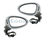 15-18 Macan Rear View Mirror Power W/blind Spot, Signal And Puddle Lamp Set Pair