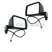 12-14 Benz G-class Mirror Power Heated W/memory, Signal And Puddle Lamp Set Pair