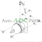 At386392 Hydraulic Motor For John Deere 672g 670g 803m 870g 803mh 853m 853mh New