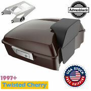 Twisted Cherry Chopped Tour Pack Backrest For 1997+ Harley Davidson Touring
