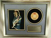 Eric Clapton Signed Vintage Color Photo Framed Display Authenticated And039and039realand039and039