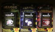 Lot Of 3 Sets Magic Playing Cards Tricks Tapered Svengali And Marked Deck
