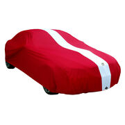 Autotecnica Show Car Indoor Garage Cover For Audi R8 All Models Non Scratch Red