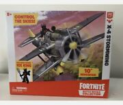 Fortnite X-4 Stormwing Plane And Ice King Figure - Battle Royale Collection F3 Toy