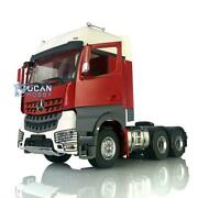 Lesu Rc Metal 66 Chassis Motor Painted Hercules Actros Cabin 1/14 Tractor Truck