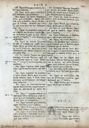 1685 Irish Bible Leaf - 1st Edition - 1 Chronicles 6-7 - The Levite Cities