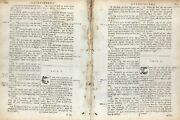 1685 Irish Bible Leaf 1st Edition Ecclesiastes 6-10 The Race Is Not To The Swift