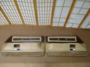 71-76 Cadillac Coupe Deville Left And Right Tan Beige Interior Door Panel Oem Set