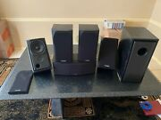 Mission 5.1 Dolby Surround Sound Home Theater System Speakers Only