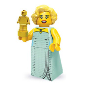 Lego Hollywood Starlet 71000 Collectible Series 9 Minifigures