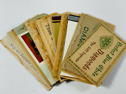 Lot 31 Antique Paper Jewelry Advertising Signs Diamonds Kirchner Renich