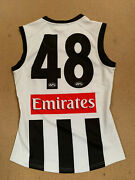 Collingwood Magpies Afl Player Away Match Issue Official 48 Jumper Pendlebury
