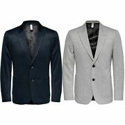 Only And Sons Menand039s Blazer Long Seelve Regular Fit Classic Jacket