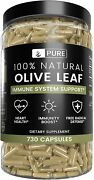 Olive Leaf 1 Year Supply 730 Capsules 940mg No Magnesium Or Rice Filler