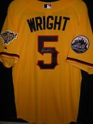 David Wright Signed 2006 All Star Jersey Authentic Majestic New York Mets -rare