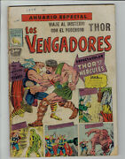 Journey Into Mystery Annual 1 Thor Vs Hercules Mexican Prensa Mexico In Spanish