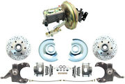 1967-72 Chevy-gmc Truck C10 Front Drop Spindle 6 Lug Disc Brake Conversion Kit