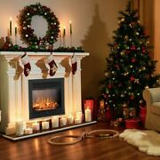 28.5 Electric Fireplace Insert Recessed Mounted Standing Fireplace Heater