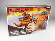 Tyco - Dino-riders - Deinonychus With Antor - Boxed - Exceptional Conditions