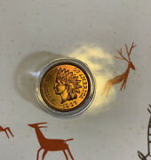 Stunning 1907 Indian Head Cent Penny Coin Ms Bu Unc +++++ Gem Red Best Buy.