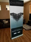 Game Of Thrones Retractable Double-sided Promotional Banner