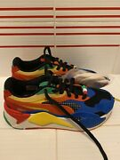 Rs-x3 Rubiks Cube Limited Shoes 374028-01 Youth Child 4.5 New