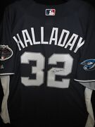 Roy Halladay Signed 2008 All Star Jersey Authentic Majestic Toronto Blue Jays