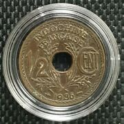 1935 Indo-china Republique Francaise 1/2 Cent Coin Ø 22mm+free1 Coin10123