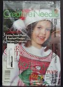 Creative Needle Sep 2004 Magazine Sewing Smocking Embroidery Pattern Smock Plate