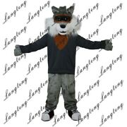 High Quality Big Bad Wolf Costume Suits Cosplay Party Outfits Clothing Ad 2020