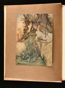 1913 Arthur Rackhamand039s Book Of Pictures A Quiller-couch Limited Ed Slipcase