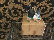 """Jim Shore Mac Rover """"hand Signed Dog Figurine New W / Box And Tag"""