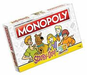 Monopoly Scooby-doo Board Game | Collectible Monopoly Game | Officially Lice...