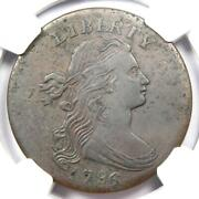 1796 Draped Bust Large Cent Reverse Of 1795 1c S-92 Coin - Ngc Xf Details Ef