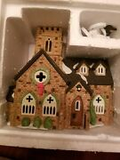 Department 56 Dickens Christmas Village Series Knottinghill Church Discontinued