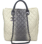Quilted Soft Caviar Skin Two-way Chain Shoulder Tote Bag 51317 From Jp