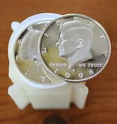 20 1998 S Kennedy Proof Dcam Silver 1 Roll 90 Silver