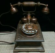 Copper Can Use Vintage Telephone Rotary Ring Old Phone
