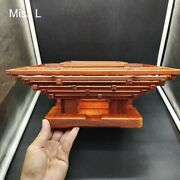 Chinese Culture Mortise And Tenon Joint Wooden Model Redwood Puzzle Toy