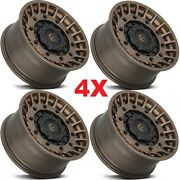 20 Fuel Militia Wheels Rims Tires D725 Matte Bronze Rhino Method