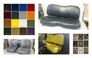John Deere Gator Bench Seat Covers Xuv 825i In Solid Black Or 25 Colors And Camo