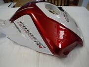 Mv Agusta Fuel Tank For 2015 Brutale Dragster 800rr Red/silver New W/ Blemish