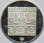 Austria 1976 Xii Olympic 100 Schilling Eagle Animal 292513 Combine Shipping
